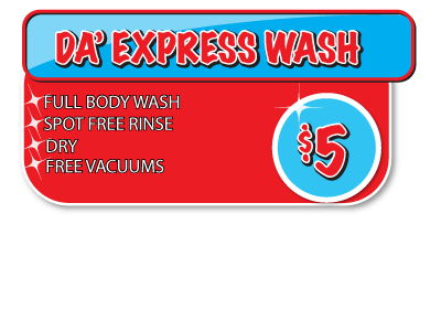Express Wash Single